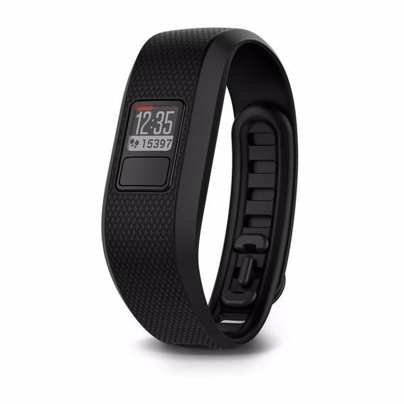 Relógio Monitor Cardíaco Garmin Vívofit 3 Com Move Iq Preto