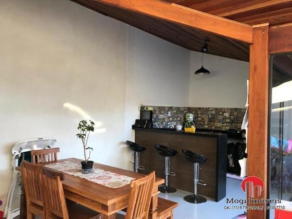 Casa Em Condomínio Para Venda Em Mogi Das Cruzes, César De Souza, 3 Dormitórios, 1 Suíte, 3 Banheiros, 2 Vagas - So471_2-934858