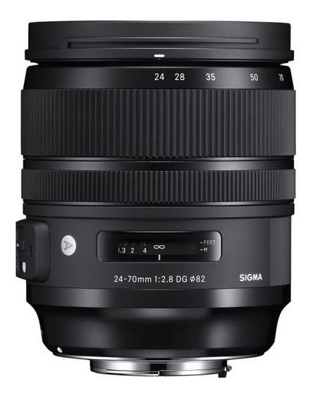 Lente Sigma Dg 24-70mm F/2.8 Os Hsm Art / Nikon + Nf-e