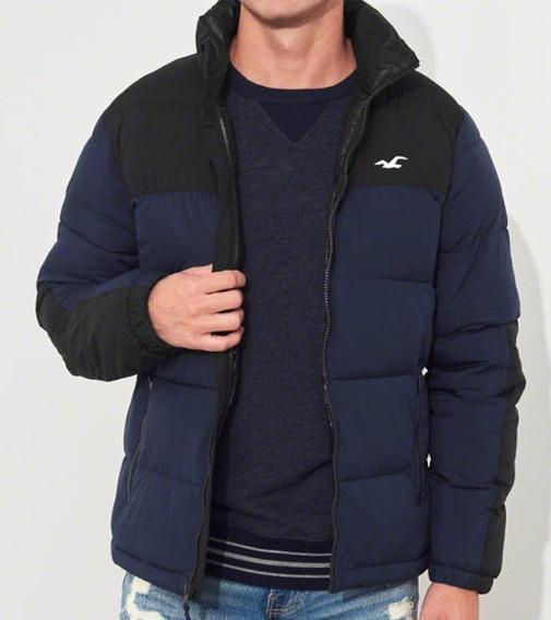 Hollister Puffer Chaqueta Jacket Casaca Hombre Talla S $85