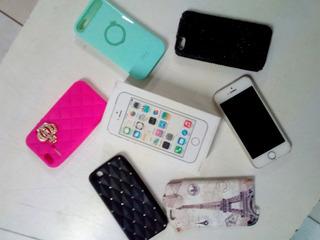 Apple iPhone 5s 16gb Desbloqueado Icloud Livre Tudo Ok