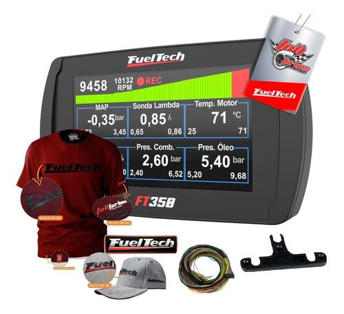 Ft350 Fueltech C/ Chicot+ Mega Brindes Camiseta Bordo Gel Bb