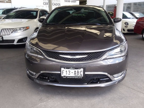 Chrysler 200 3.6 200c Advance Mt 2015 Torre Iztacalco