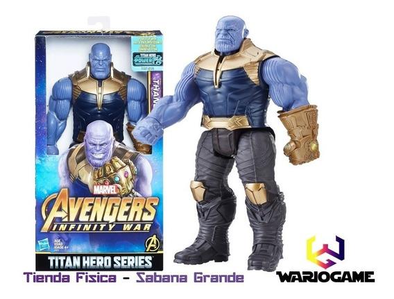 Muñeco Thanos Avengers Marvel Infinity War Somos Tienda