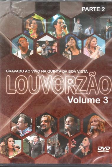 Dvd Louvorzão Parte 2 - Ao Vivo Na Quinta Da Boa Vista Vol 3