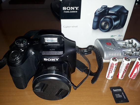 Câmera Digital Sony Cyber-shot Dsc H200 20.1 Mega Pixels