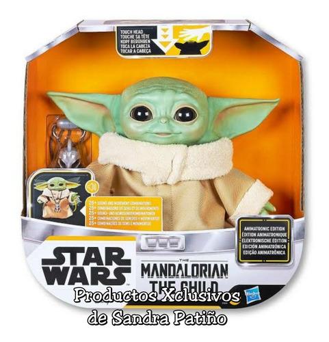 Baby Yoda Animatronico Grogu Mandalorian En Stock- Star Wars