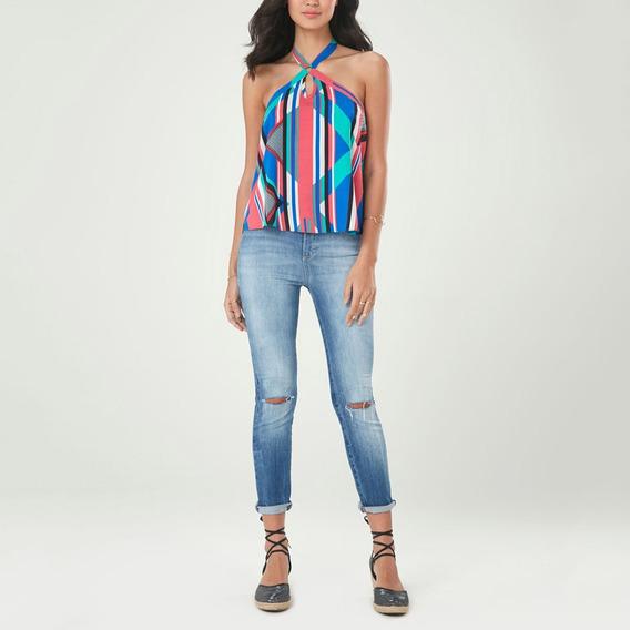 Calça Jeans Malwee Feminina Stetch Tradicional Original C/nf