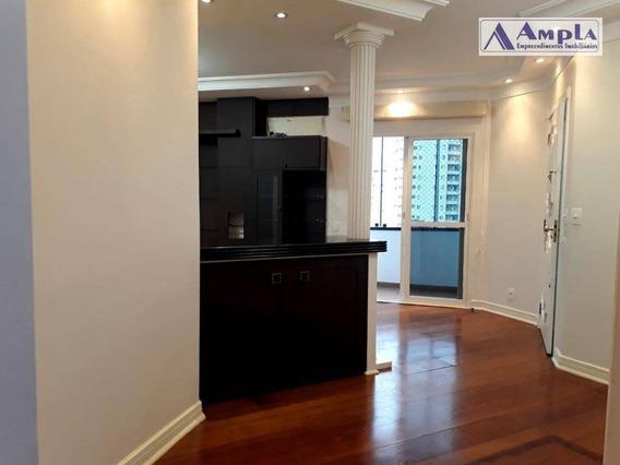 Apartamento Com 3 Dormitórios À Venda, 130 M² Por R$ 850.000 Ou Locação R$ 4.000 - Tatuapé - São Paulo/sp - Ap1195