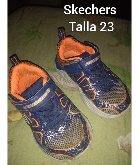 Gomas Skechers Originales Talla 23.5