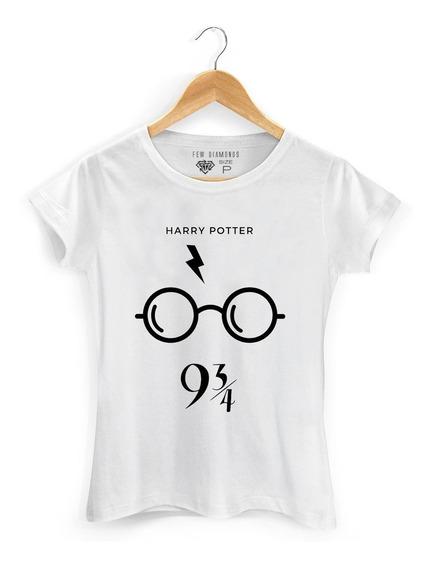 Camiseta Feminina Serie Harry Potter 9 Oculos Nerd Camisa