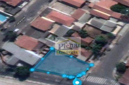Terreno, 470 M² - Venda Por R$ 800.000,00 Ou Aluguel Por R$ 2.500,00/mês - Parque Dos Pinheiros - Hortolândia/sp - Te0800