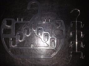 2 Cabide Preto 1 Cabide Metal Gravata Bijouteria Cinto Usado