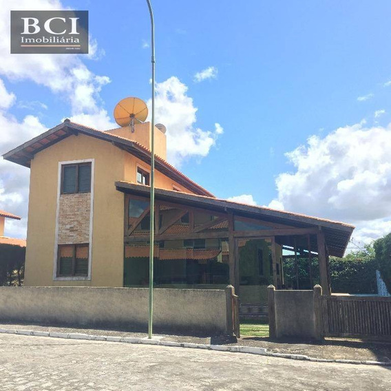 Casa Residencial À Venda, Zona Rural, Gravatá. - Ca0026