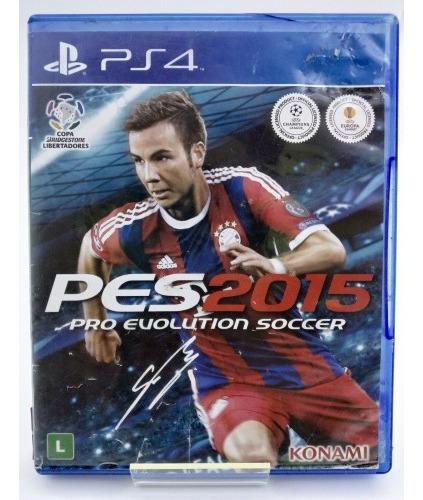 Pro Evolution Soccer Pes 2015 Ps4 Mídia Física Português Br