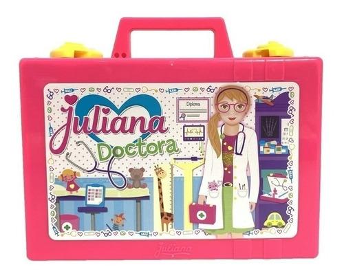 Juliana Doctora Valija Chica Varios Accesorios Tv Educando