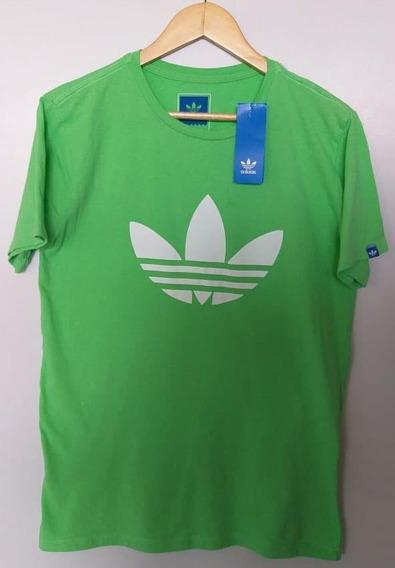 Camisa adidas Skateboard Verde Água