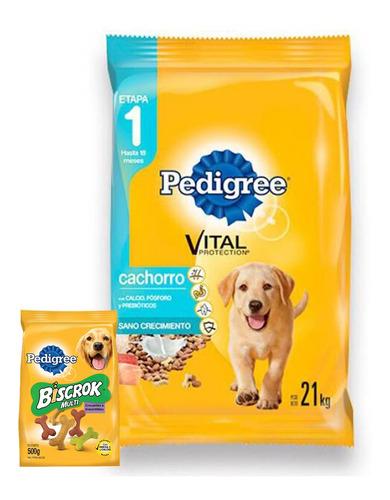 Pedigree Cachorro 21 Kg + Regalos (ver Fotos) + Envío