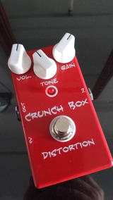 Pedal Mi Effects Crunch Box Distortion U.s.a
