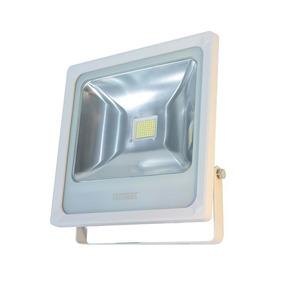 Refletor Taschibra Tr Led50w Branco 3000k Luz Amarela Bivolt