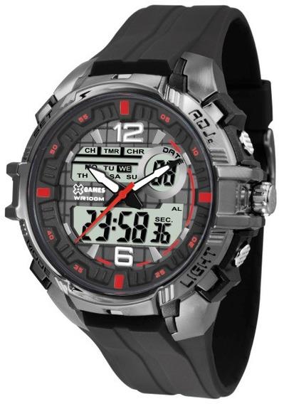 Relógio X-games Masculino Preto 36304