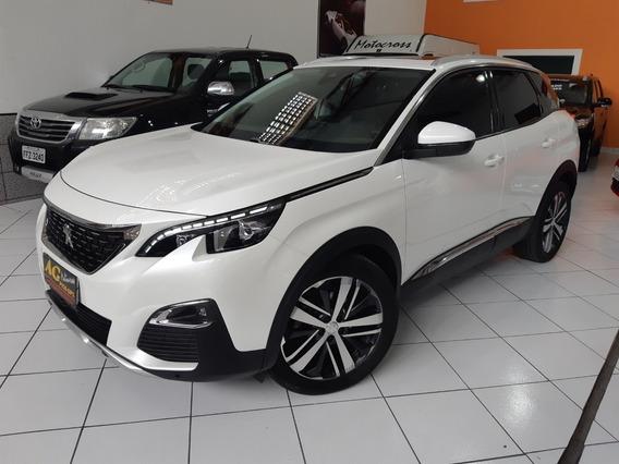 Peugeot 3008 Griffe Thp 2018 Branco 1.6 Turbo Teto Top 20km