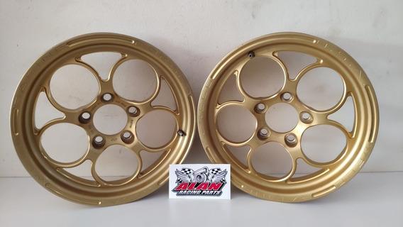 Roda Weld Magnum Gold Dourada 15x3.5 Usada