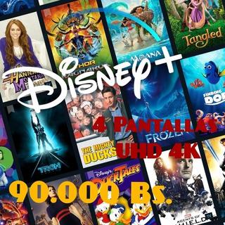 Disney Plus 30 Dias Garantizados. Entrega Inmediata