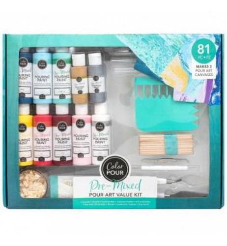 American Crafts - Kit Mixed Midea - Color Pour