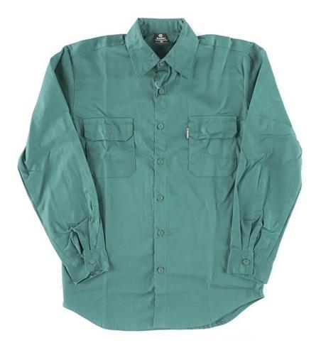 Camisa Gabardina De Trabajo