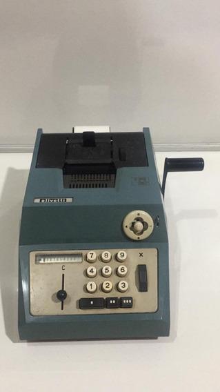 Calculadora Manual Olivetti Summa Prima 20 (no Estado)