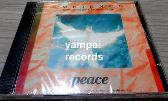 Ambience Peace Robin Thompson Clarke Cd Instrumental Cello