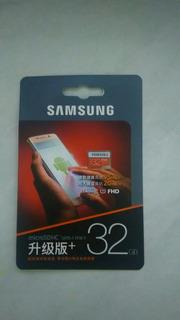 Cartão De Memória Samsung 32 Gigas Classe 10 Original