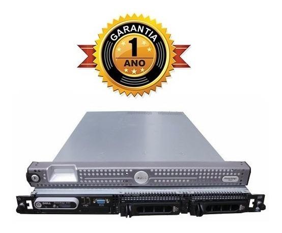 Servidor 1950 Dell + 2x Dual + 16gb + 146gb + 1 Ano Garantia