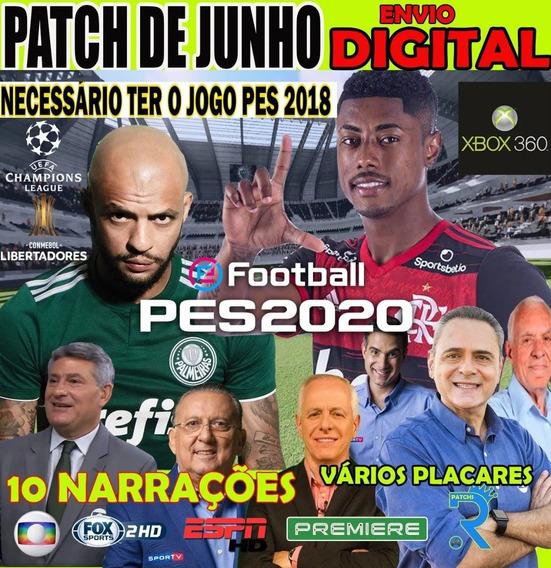 Patch Pes18(2020) Xbox360 Atualizado 2020 + Suporte