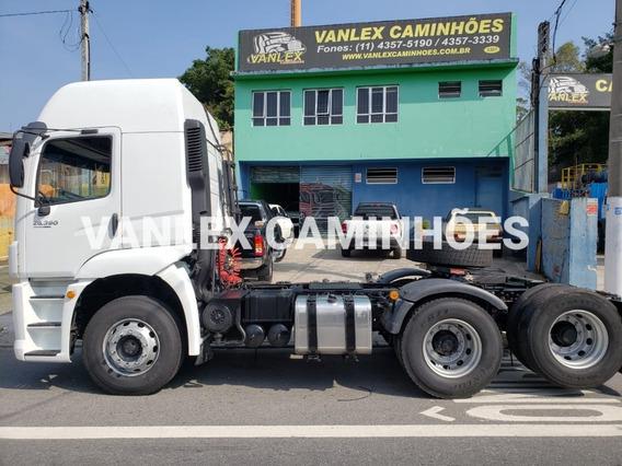 Vw 25390 6x2 Cabinado Ñ 2544 Fh Volvo Scania Mb Axor