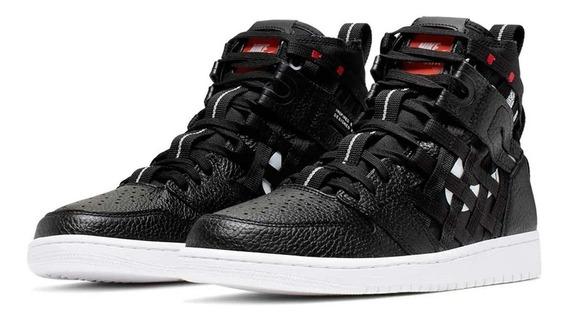 Tênis Nike Air Jordan 1 High Cargo Black