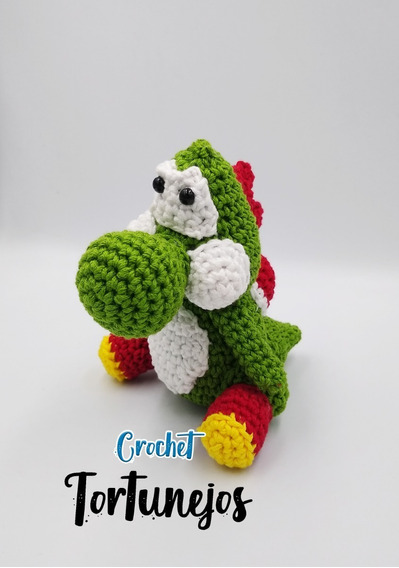 Yoshi Character Beanie Hat Crochet Pattern | Beanie hat crochet ... | 568x399