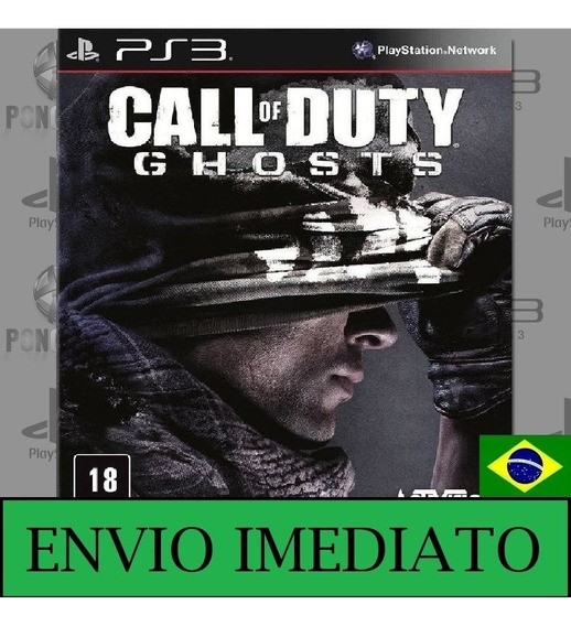 Call Of Duty Ghosts Ps3 - Mídia Digital Envio Na Hora