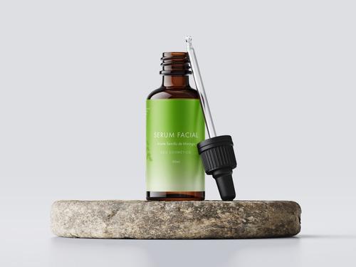 Sérum Facial Moringa Protección Antioxidante Al Rostro