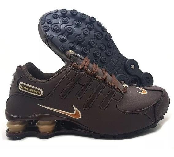 Tênis Masculino Nike Shox Nz 4 Molas Original Frete Grátis Barato