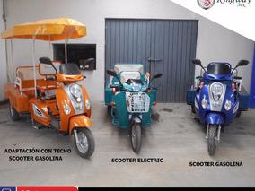 Motocarro Scooter 110cc A 12 Meses