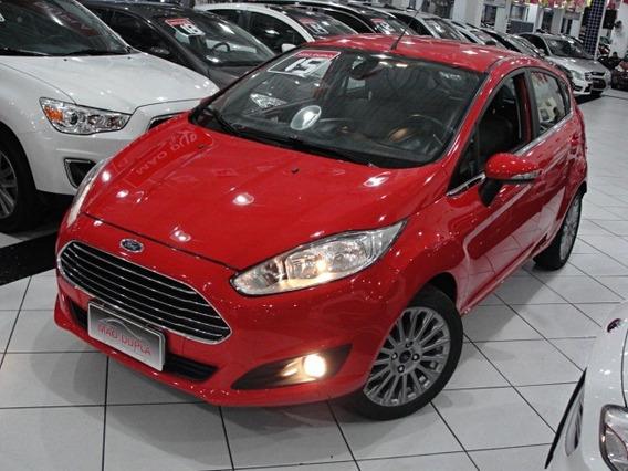 Ford Fiesta 1.6 Tit. Autom. Flex 2015 Completo 65.000 Km