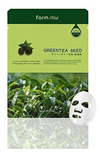 Farmstay Korean Greentea Seed Hydration Facial Mask Hoja (pa