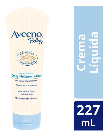 Crema Líquida Corporal Bebé Daily Moisture 227 G Aveeno Baby