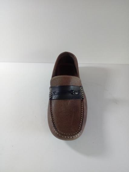 Sapato Mocassin Masculino Couro Legitimo N°37