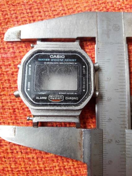 Só A Caixa Relógio Antigo G-shock 5600 Casio Série Prata Lei