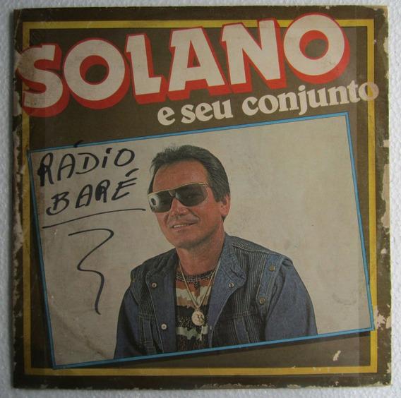 Lp Solano E Seu Conjunto 1986