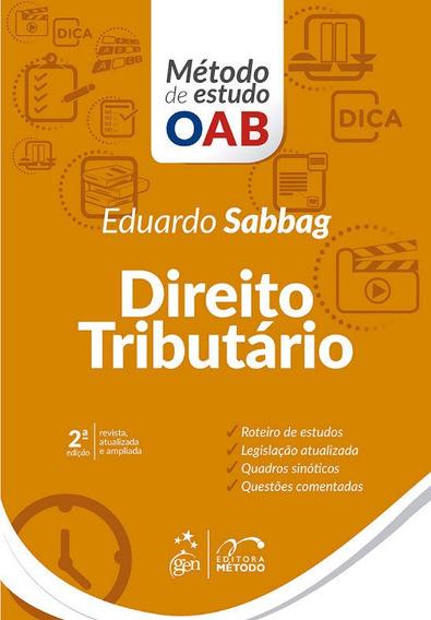 Livro - Série Método De Estudo Oab - Direito Tributário, 2ª