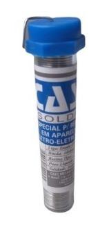 Tubo De Solda Estanho Cast 1mm P/ Eletrônicos 22gr